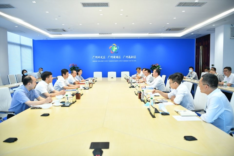 省药品监管局局长江效东赴广州市黄埔区开展生物医药产业发展专题调研