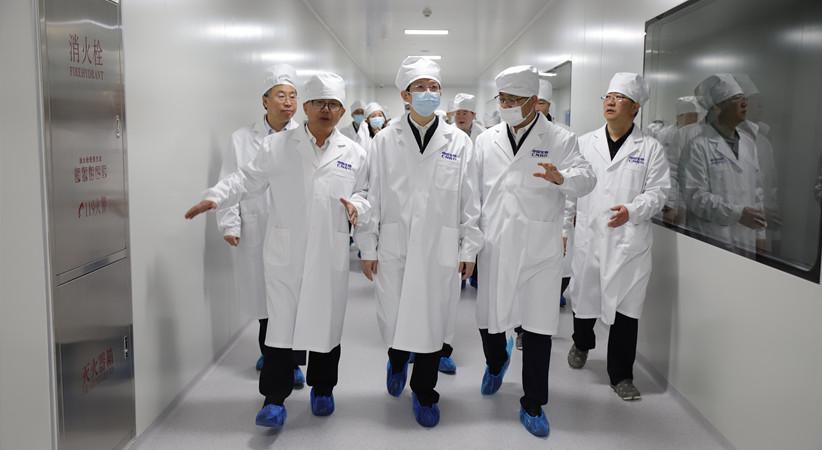 国家药监局督导检查新冠病毒疫苗保质量保供应工作